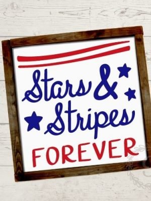 stars and stripes forever svg