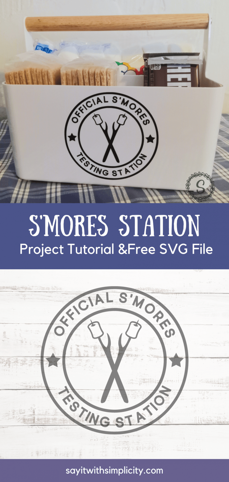 S'Mores Station and Free SVG