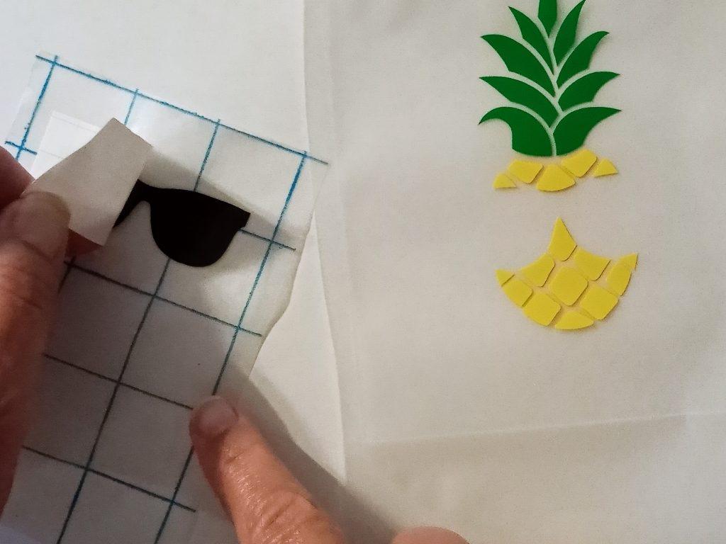 Adding Transfer Tape to Vinyl