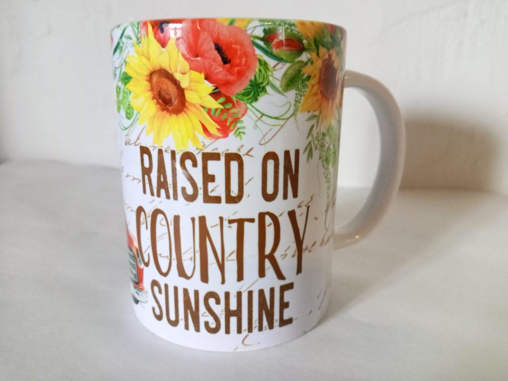 country sunshine mug