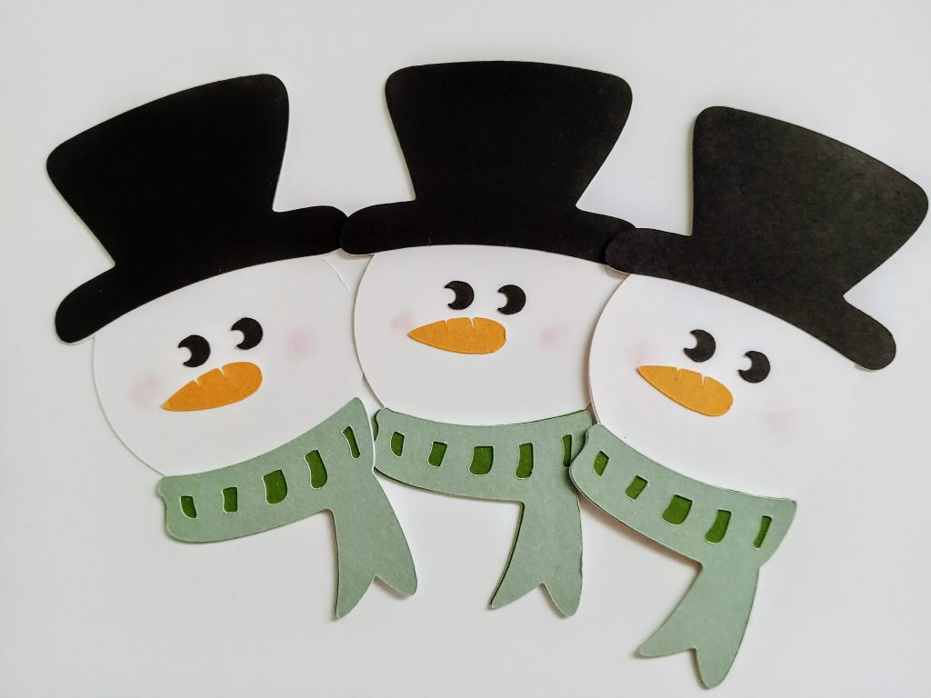 Cricut Snowmen