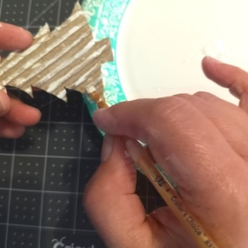 Cardboard Gift Tag with Cricut Maker