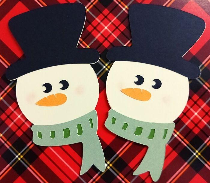 snowman face cricut cuts