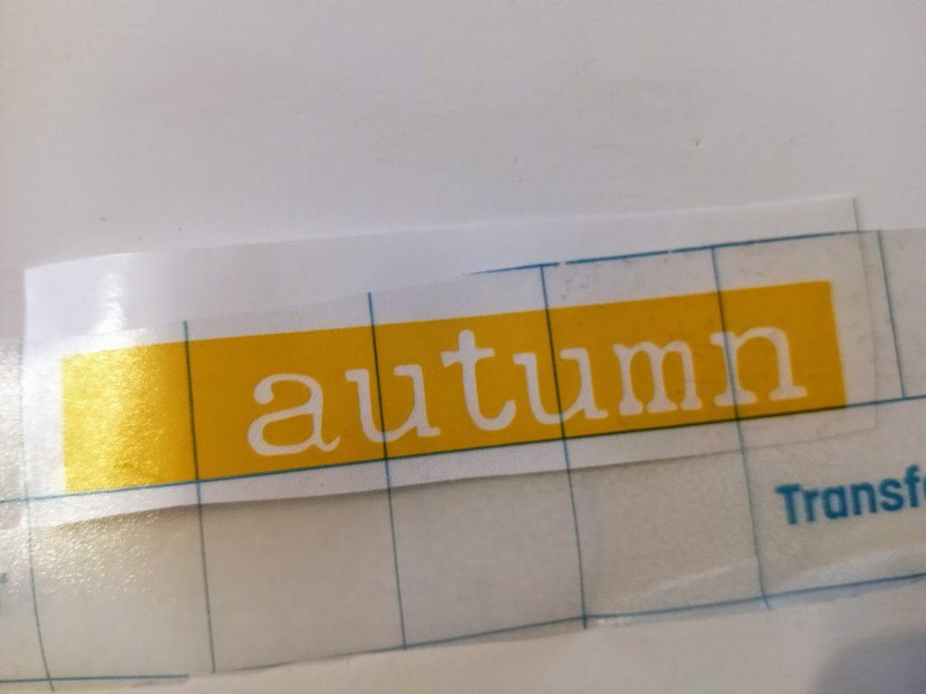 Transfer Tape Vinyl Stencil