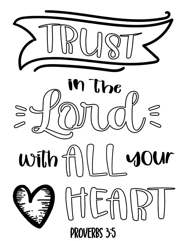 photo of Bible Coloring Page